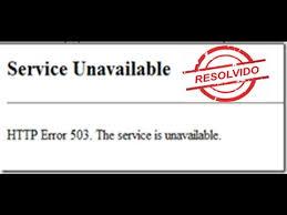503 Service Temporary Unavailable by Como Resolver O Erro Do 503 Service Unavailable Youtube