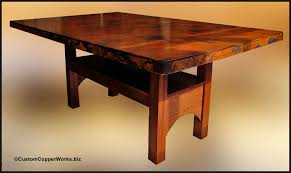 dining tables trestle table bases rustic counter height copper table tops copper top dining tables copper bath tubs