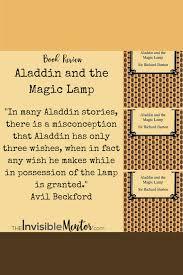 aladdin magic lamp book review