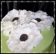 tealgold birthday cake with fondantgumpaste hydrangeas calla