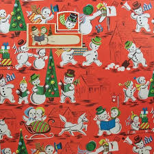 vintage christmas wrapping paper rolls 275 best vintage christmas wrapping paper images on