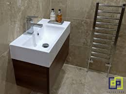 Sonia Bathroom Accessories by Travertine Tiles Walnut Basin Unit Completed Bathrooms Dp