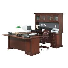 U Shaped Desks With Hutch Sauder Heritage Hill U Shaped Desk Hutch