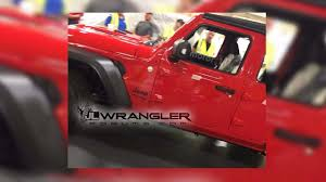 2018 jeep wrangler pickup name next generation jeep wrangler caught completely exposed