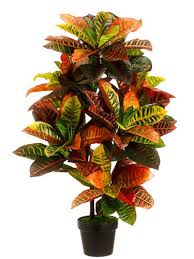 artificial croton tree artificial potted trees
