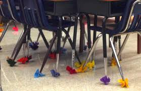 chair foot covers on the classroom floor heaven superteach s special ed spot