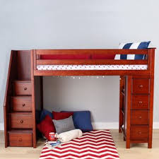 All In One Loft Twin Bunk Bed Bunk Beds Plans by Bunk U0026 Loft Beds With Stairs