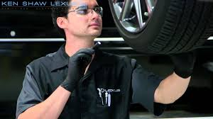 ken shaw lexus toyota used cars lexus inside look vehicle inspection and tire rotation youtube