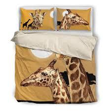 Giraffe Bed Set Buy Giraffe 2 Bedding Set Free Shipping 2 Matching Covers Bed