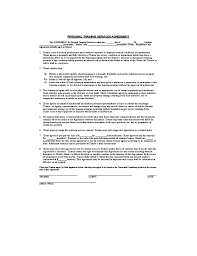 Personal Services Agreement Template services agreement template personal services agreement