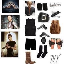 Tomb Raider Halloween Costumes Lara Croft Halloween Costume Polyvore