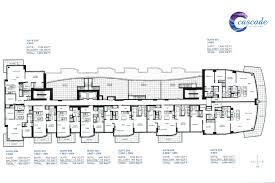 Cascade Floor Plan Thomas Beeson Vancouver Real Estate Cascade At The Pier
