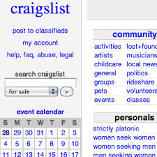 craigslist for sale more search engines to search all of craigslist