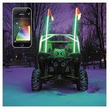 led light whip for atv xk glow whip led light kit utv atv cycle gear