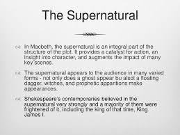 supernatural themes in hamlet macbeth supernatural essay supernatural elements in macbeth macbeth