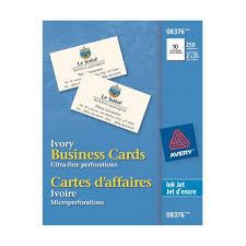 Ivory Business Cards Avery Ink Jet Printers 8376 Matte Ivory Business Cards Walmart
