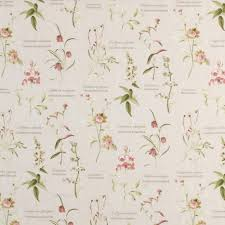 Peach Floral Curtains Floral Curtain Fabric Free Samples Available Online Terrys Fabrics