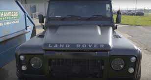 kahn land rover defender ross noble talks about gt86 top gear lap brings his kahn defender