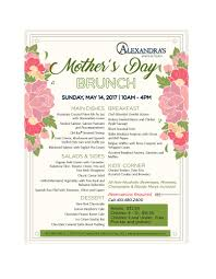 s day brunch invitation alexandra s restaurant at turf valley s day