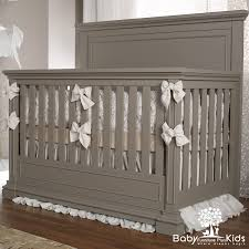 Cribs That Convert To Beds by Spice Crib Weathered Gray Bed With Colors Greyb Jaw Dropping