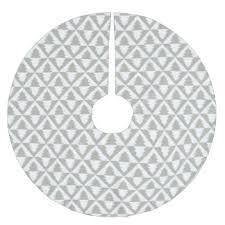 geometric pattern tree skirts zazzle