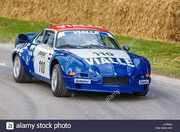 renault alpine a110 rally 1977 renault alpine a110 rallycross car with driver john wheeler