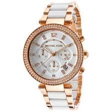 gold tone stainless steel bracelet images Jomashop rakuten michael kors watch women 39 s chronograph parker jpg