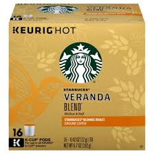 starbucks veranda blend roast coffee k cup pods 16ct