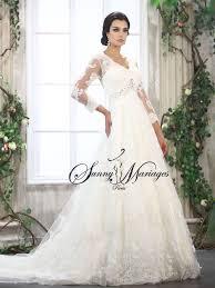 robe mariã e manche longue robe de mariée dentelle robe de mariée princesse mariage