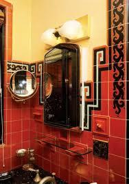 art deco lighting for the bathroom old house restoration