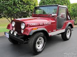 1974 jeep renegade 1974 jeep cj5 midwest car exchange