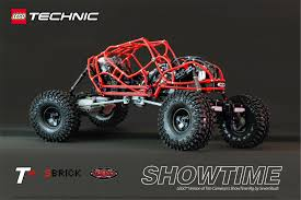 lego technic rc 4 4 showtime lego car blog