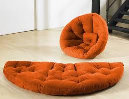 fresh futon nest u2013 convertible futon chair and mattress