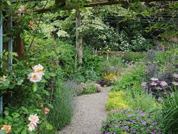 country cottage garden home
