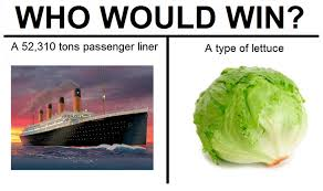 Vegetable Meme - 10 dark who would win memes too good to ignore collegehumor post