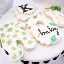 darling tropical baby shower party ideas tinselbox