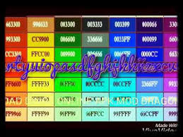 youtube color code youtube color code coryc me