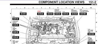ford f150 ecm where is the ground located in the pcm for ford f150