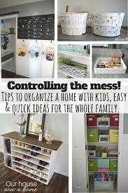 organize home easy tips diy ideas to keep the whole family organized our