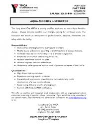 Sample Resume For Gym Instructor by Pilates Instructor Resume Sales Instructor Lewesmrsample Resume Of