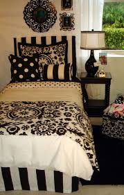 excellent black and white bedding room ideas design decorating