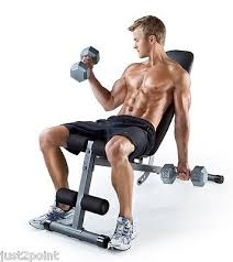 Bench Abs Workout Exercise Bench Abs Workout Sit Up Slant Fitness Body Crunch Home