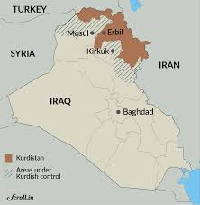 Iraq Province Map Kurd Vs Arab The War Against Islamic State Might Not Spell The