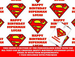 superman wrapping paper cheap free printable personalized gift tags find free printable