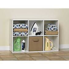 closetmaid cubeicals 6 cube storage organizer white for the