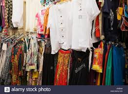 boutique blouses dresses and blouses for sale in front of a shopping boutique at an