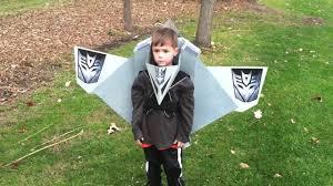 halloween airplane costume mcginnis transformer costume airplane youtube