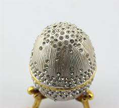 golden hand ring holder images Silver gold faberge egg decorative hinged jewelry box zen jpg