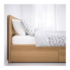 malm bed frame high w 2 storage boxes white lur 246 y malm bed frame high w 2 storage boxes 160x200 cm ikea