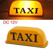 Taxi Light Taxi Top Light Ebay